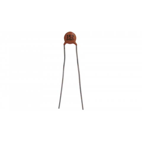 1500 PF 50V CERAMIC DISC CAPACITOR