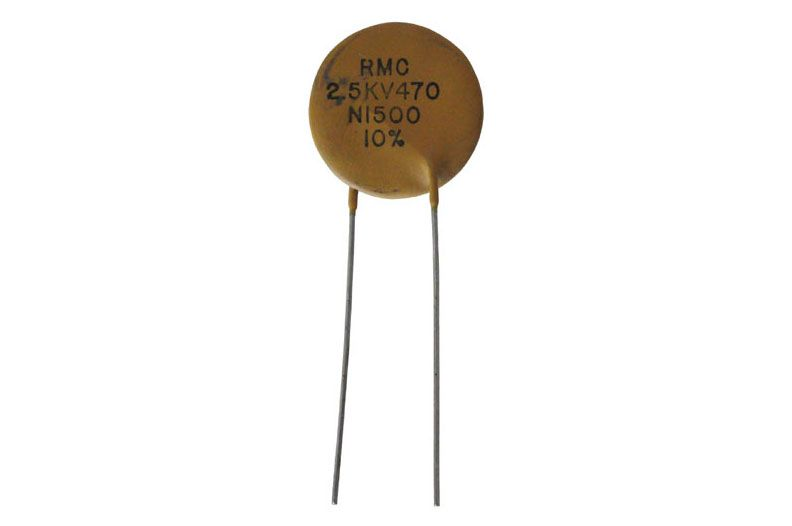 20 Piece Disc Ceramic Capacitor 470 PF 470pf 2kv 5mm step