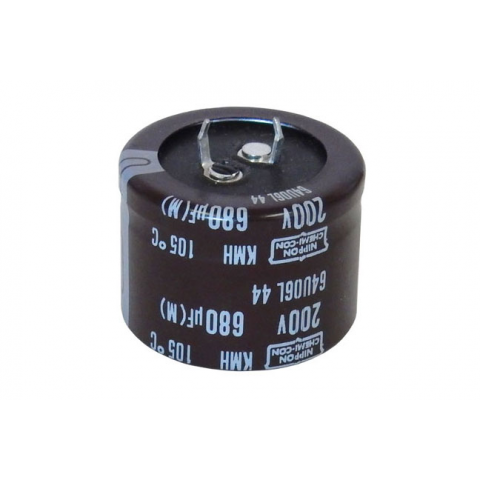 680 MFD, 200V SNAP-IN ELECTROLYTIC CAPACITOR