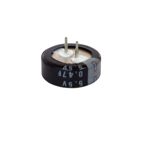 0.47F 5.5V MEMORY BACK-UP CAPACITOR
