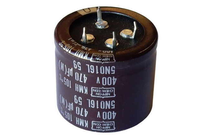 470UF 400V SNAP-IN ELECTROLYTIC CAPACITOR