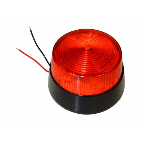 RED LED FLASHING LIGHT
