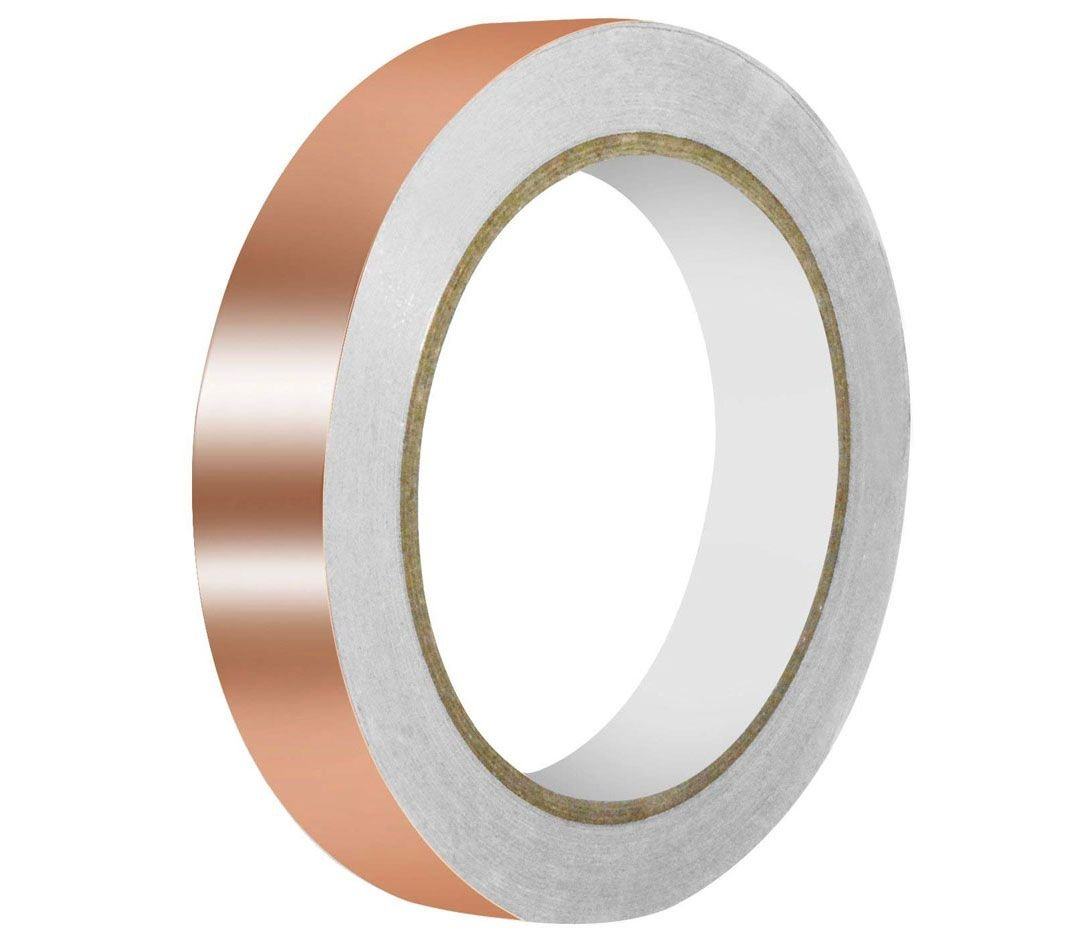 "COPPER TAPE, 1"" X 12 YDS"