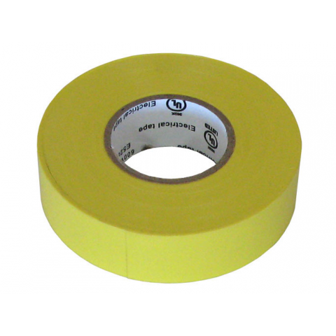 "3/4"" X 60' ELECTRICAL TAPE UL/YELLOW"