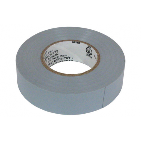 "3/4"" X 60' ELECTRICAL TAPE, GREY"