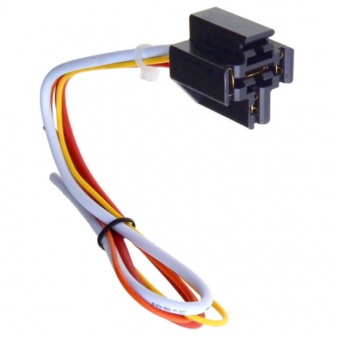 4-WIRE AUTO RELAY SOCKET | All Electronics Corp. on 8 pin relay connections, 8 pin relay plug in, 8 pin cube relay diagram, 8 pin relay circuits, 8 pin time delay relays, 8 pin relay base, 8 pin round base, 8 pin relay socket diagram,