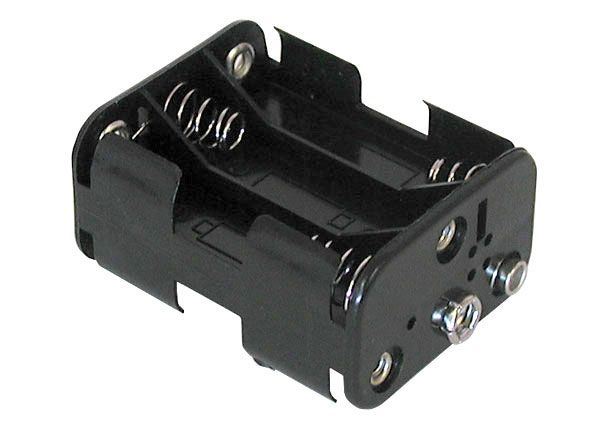 BATTERY HOLDER FOR 6 AA CELLS