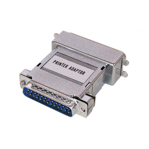 PARALLEL PRINTER ADAPTOR DB-25 TO 36 PIN CENT.