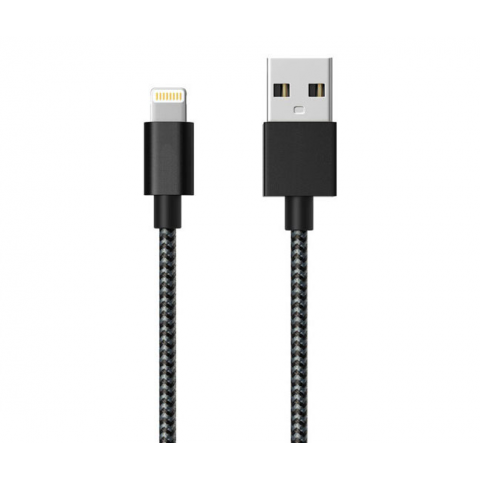 6' APPLE USB CHARGING & DATA SYNC BRAIDED CABLE