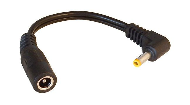 DC Power Splitter Cable Jack DCJ-PP 1 Female Plugs to 2 Male - Lot of 10