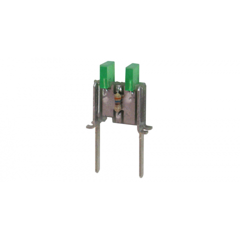 RECTANGULAR GREEN LED ASSEMBLY