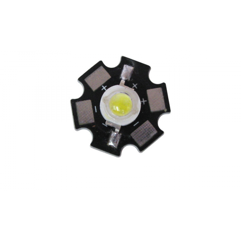 5 WATT LED COOL WHITE WITH STAR HEATSINK