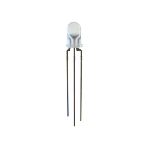 5MM YELLOW-GREEN BI-POLAR LED, 3-LEG