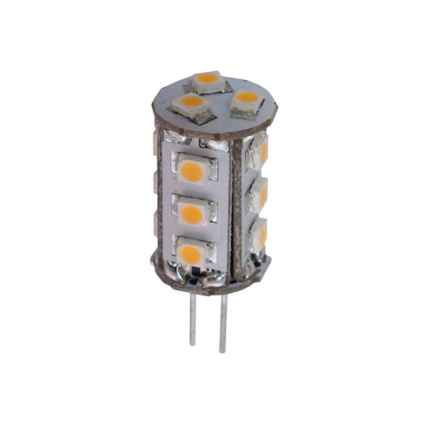 WARM WHITE 15-LED ASSEMBLY, 12V AC OR DC