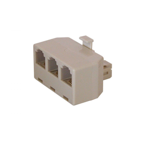 1 TO 3 MOD PHONE JACK SPLITTER