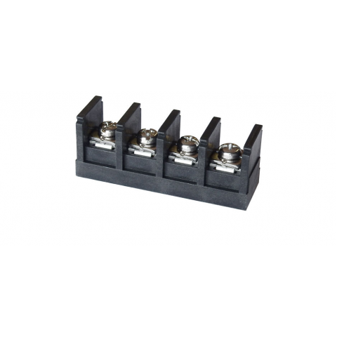 4-POSITION 60A TERMINAL STRIP, PC MOUNT