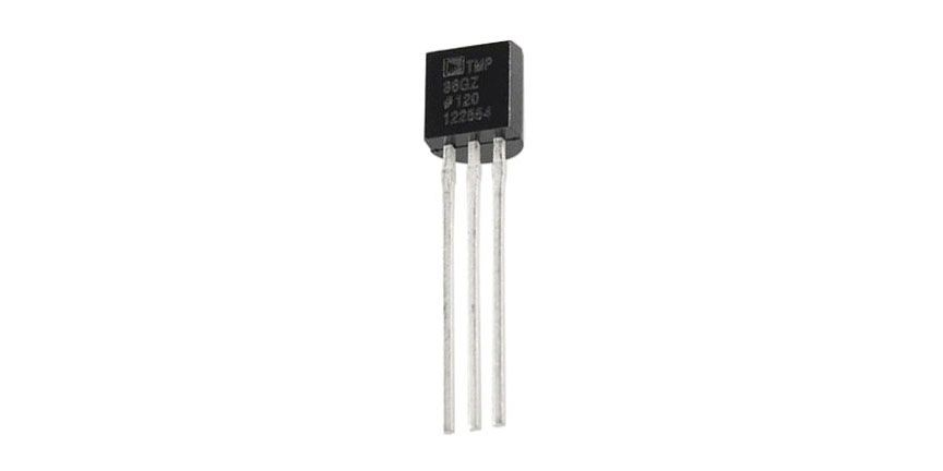 TMP36 TEMPERATURE SENSOR, TO92