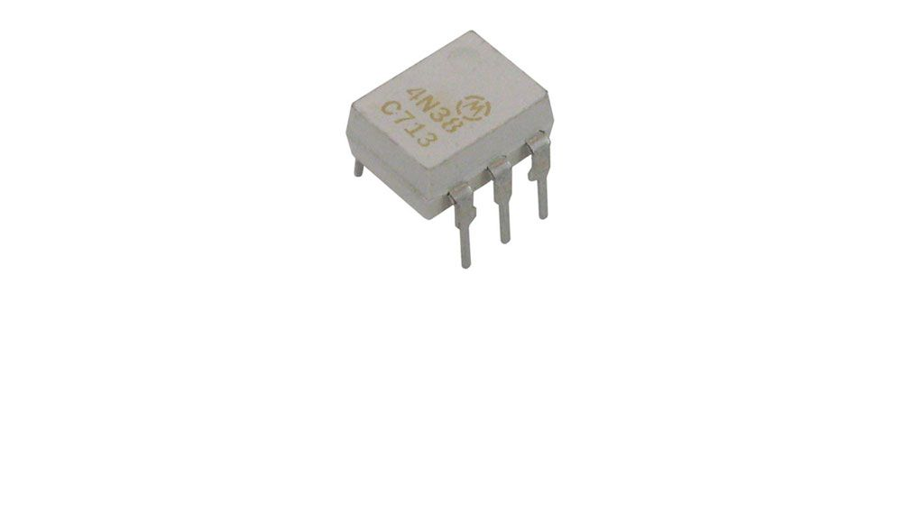 4N38 OPTOCOUPLER, PHOTOTRANSISTOR OUTPUT