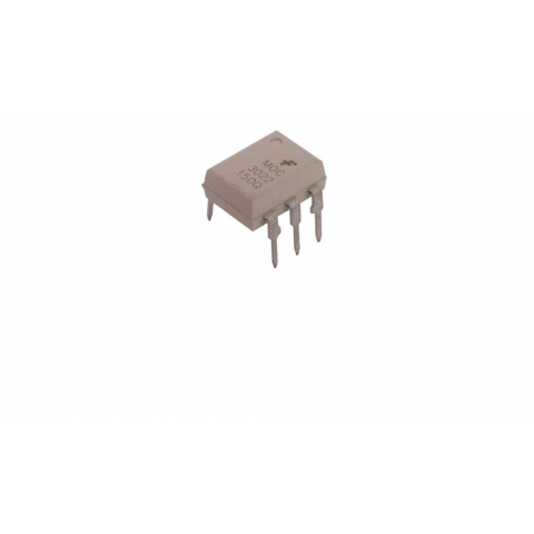 MOC3022 OPTO ISOLATOR, TRIAC-OUTPUT