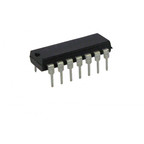 74LS393 DUAL 4BIT BINARY COUNTER
