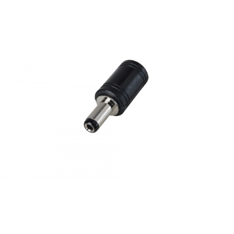 DC POWER PLUG CONVERTER, CONVERTS 2.1MM TO 2.5MM