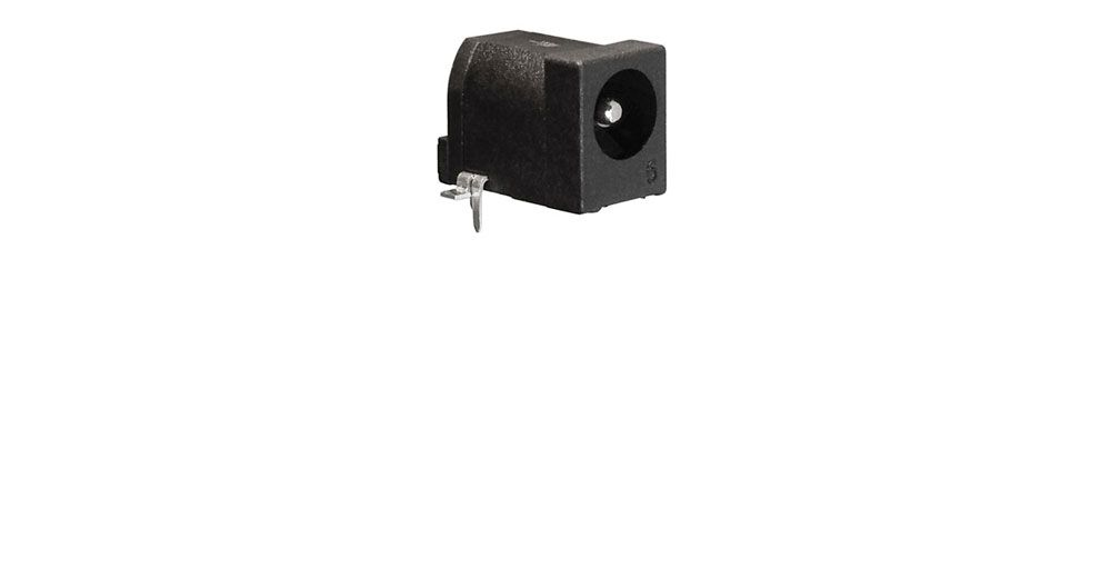 COAX DC POWER JACK, 2.5MM PIN