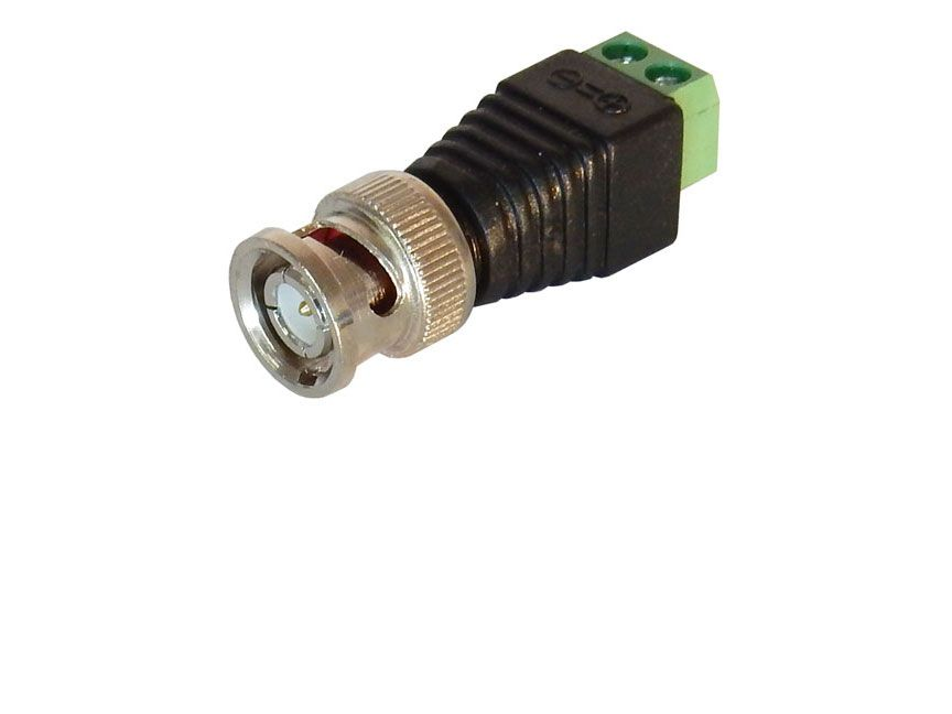 BNC CONNECTOR WITH SCREW TERMINALS