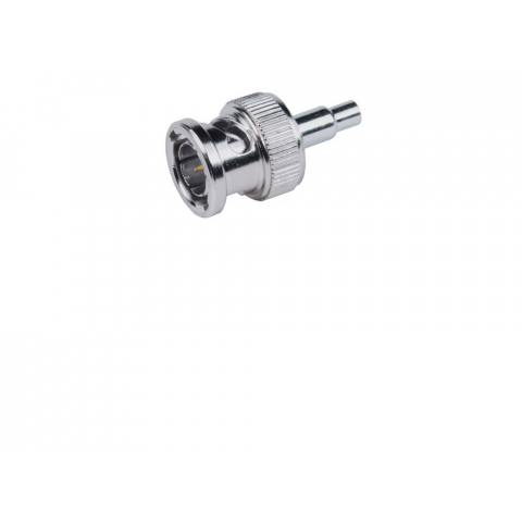 BNC MALE PLUG, CRIMP-ON FOR MINI-RG59/U