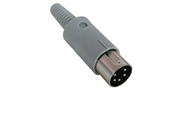 5-PIN DIN PLUG, 240 DEGREE