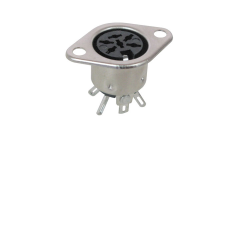 5-PIN DIN SOCKET, 240 DEGREE