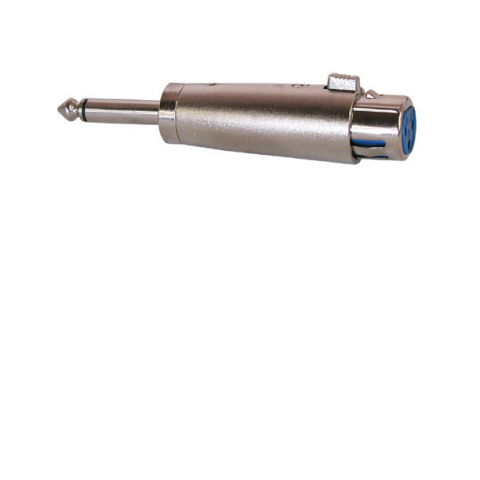 "XLR FEMALE TO 1/4"" PLUG ADAPTER"