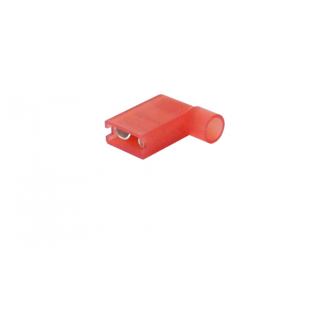 "1/4"" RED FULLY INSULATED FEMALE, FLAG TERMINAL"