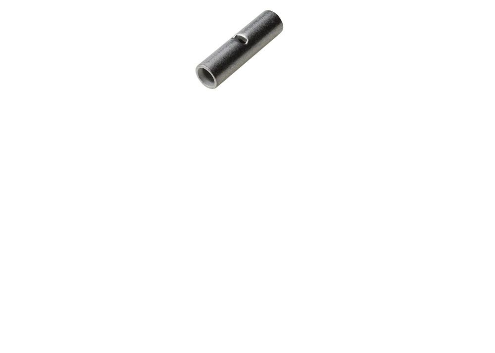 BUTT CONNECTOR, NON-INSULATED 16-14AWG