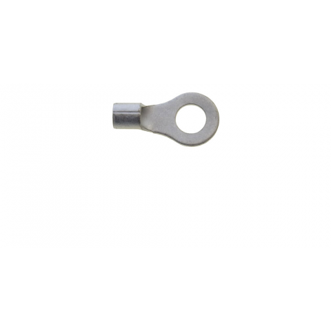 "1/4"" NON-INSULATED RING TERMINALS, 12-10 AWG"