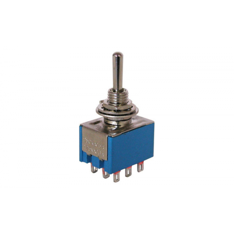 3PDT ON-OFF-ON MINI-TOGGLE SWITCH