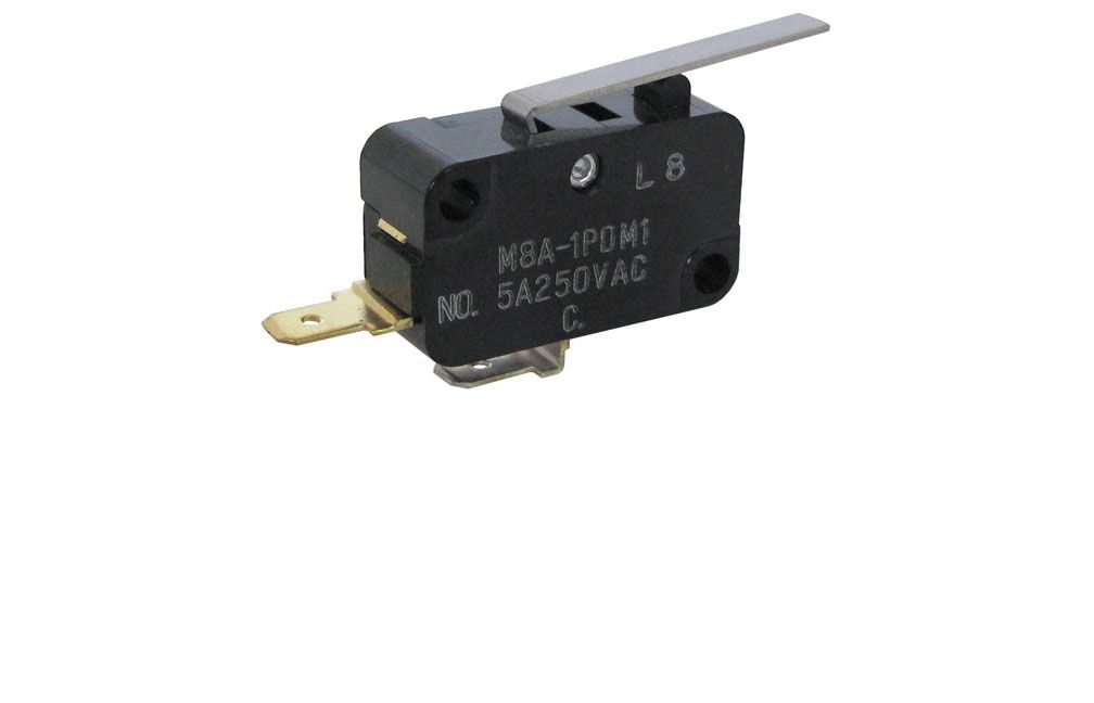 SPST N.O. SNAP-ACTION SWITCH W/ LEVER