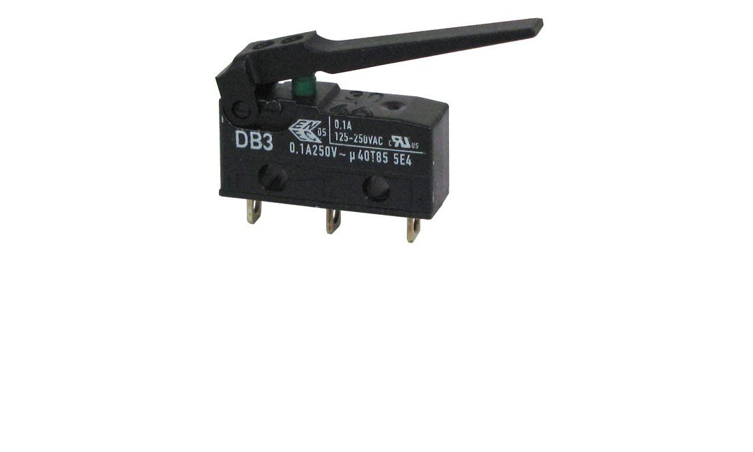 SPDT MINI-SNAP-ACTION SWITCH W/ LEVER