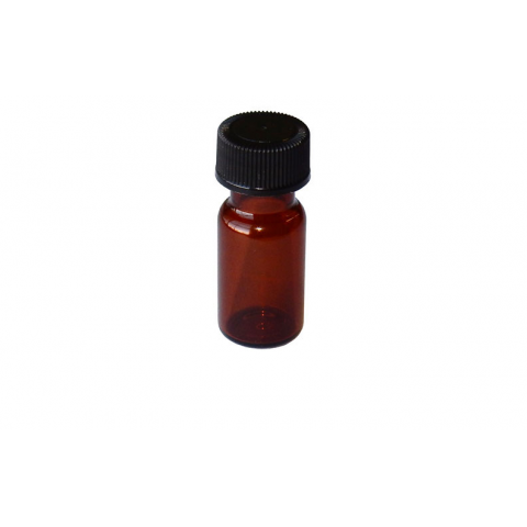 4ML AMBER BOTTLE WITH CAP