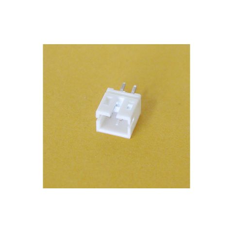 HEADER FOR SMALL BATTERY CON., 2MM SPACING, WHITE