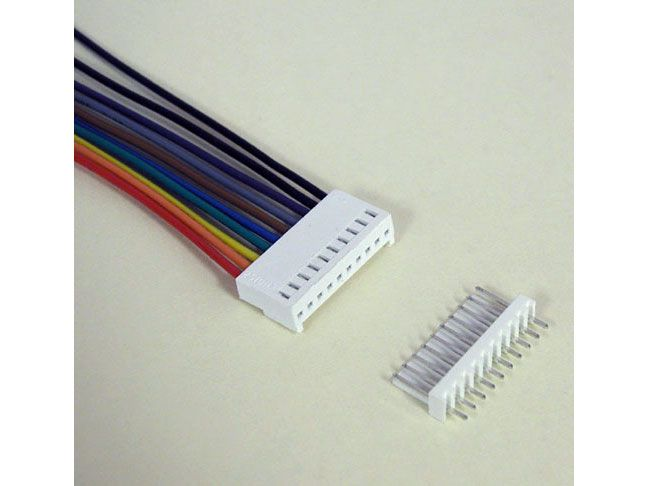 "10-PIN CONNECTOR W/ HEADER, 0.1"" SPACING"