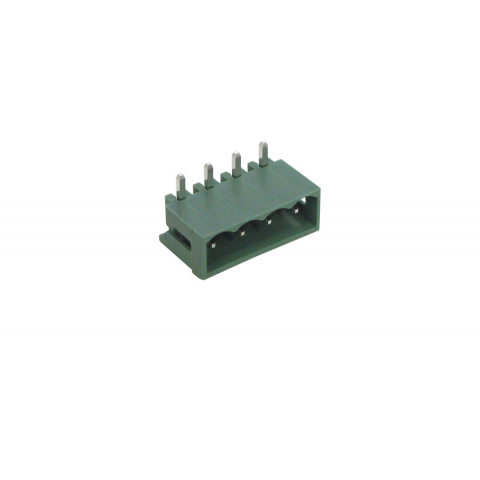 4-PIN RIGHT ANGLE PC HEADER