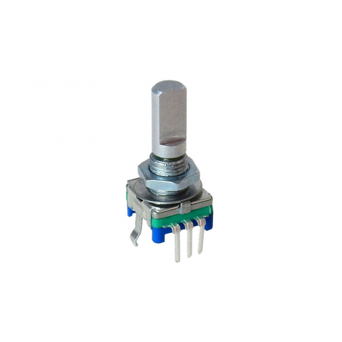 30 detent rotary encoder with switch all electronics corp  g20056 alps rotary encoder with push