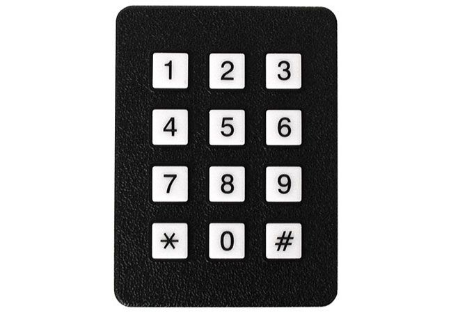 12 BUTTON KEYPAD, MATRIX ENCODED