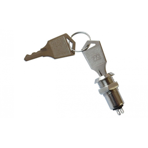 ON-OFF KEYSWITCH, KEY REMOVABLE IN OFF POSITION ONLY