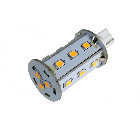 10-30V OMNI-DIRECTIONAL LED WEDGE BASE LAMP, WW