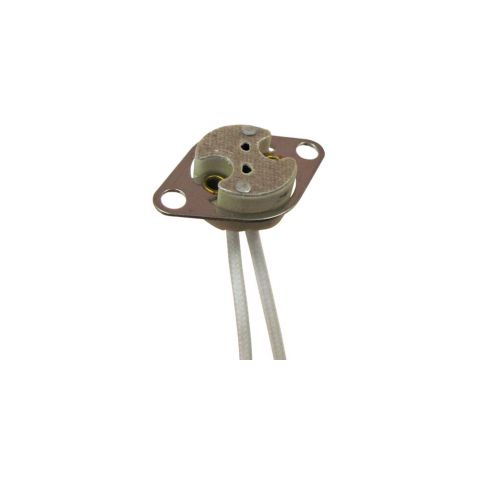 MR-16 BI-PIN LAMP SOCKET W/ MTNG FLANGE