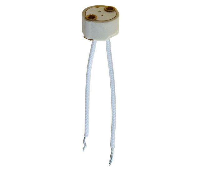 G4 BI-PIN LAMP SOCKET FOR MR-11 LAMPS