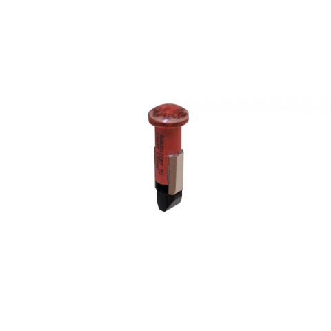 120VAC RED LED -- SLIDE BASE LAMP
