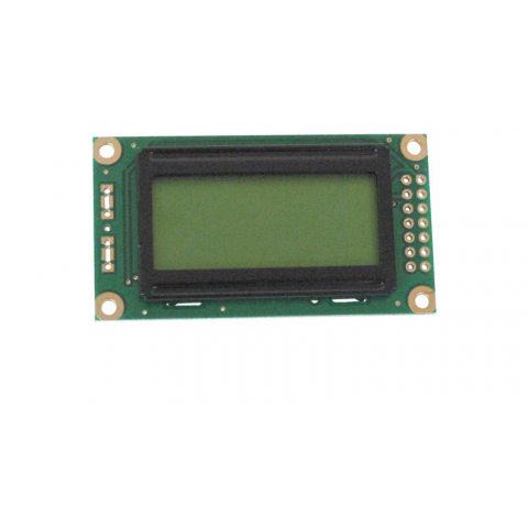 8 CHARACTER X 2 LINE LCD