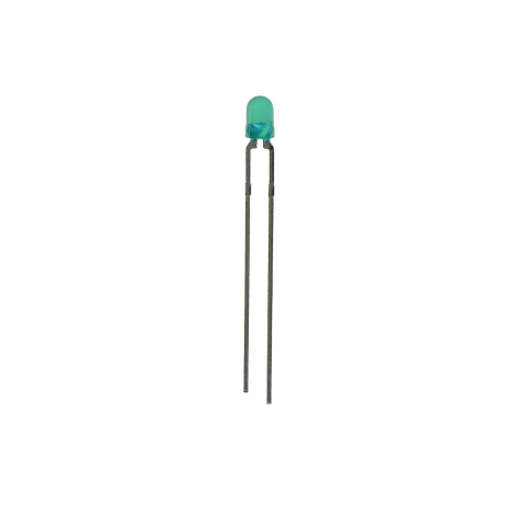 MINIATURE T-1 (3MM) GREEN LED